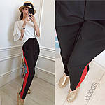 Женские брюки с лампасами, фото 3