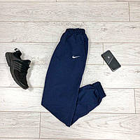 Спортивные штаны мужские Nike, синие трикотаж