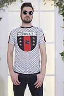 Летняя мужская футболка с эмблемой