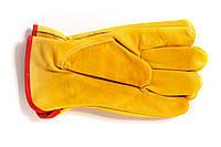 Краги робочі шкіряні короткі HW-7058