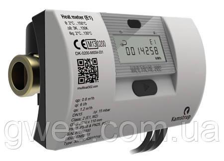 Теплосчетчики Multical 302, присоединение G¾B (R½), Qном = 1,5 м³/час