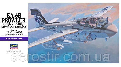 EA-6B Prowler High Visibility 1/72 HASEGAWA E8