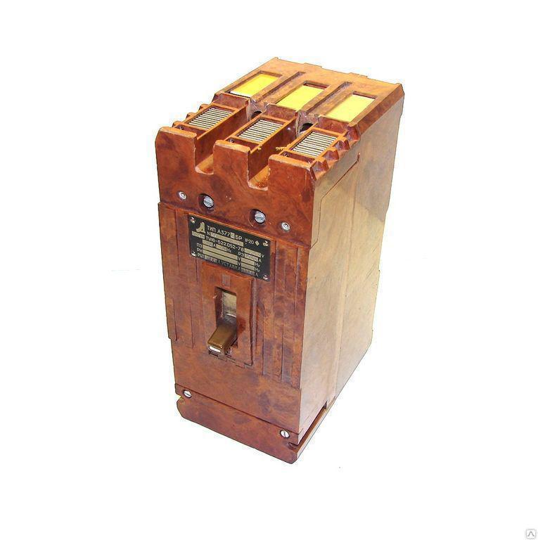 Автоматический выключатель А-3772Бр 100 А