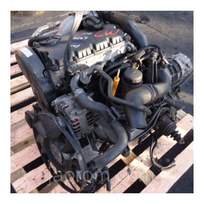Мотор (Двигатель) Volkswagen Passat A4 1998-2002г.в. 1.9 tdi ATJ AJM 115л.с.