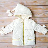 """Детская куртка """"Буратинка"""" для девочек на рост 86-110 см (весна, лето, осень)"""