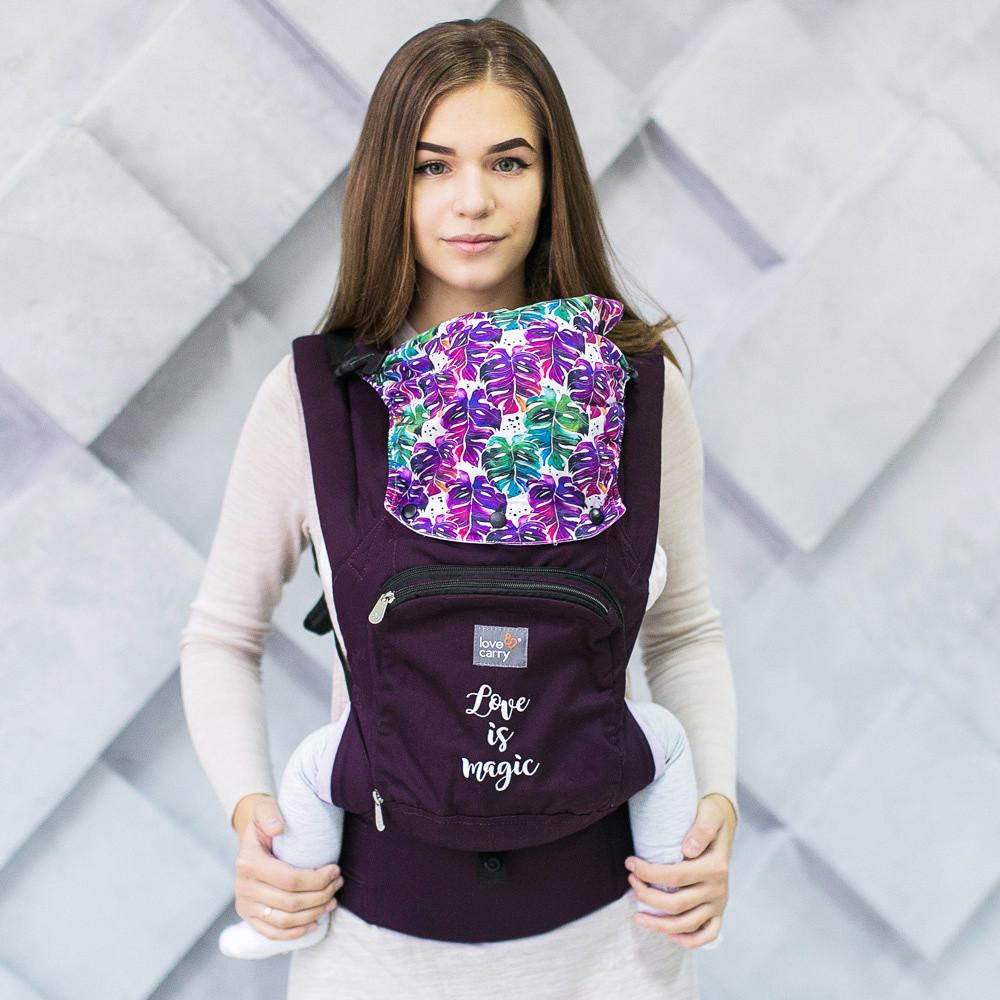 """Слинг-рюкзак Эрго переноска """"Магия"""" для переноски детей Love Carriers ерго cлiнг sling не Кенгуру, фото 1"""