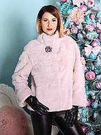 Норковое Болеро Розовое  0436ЕИШ