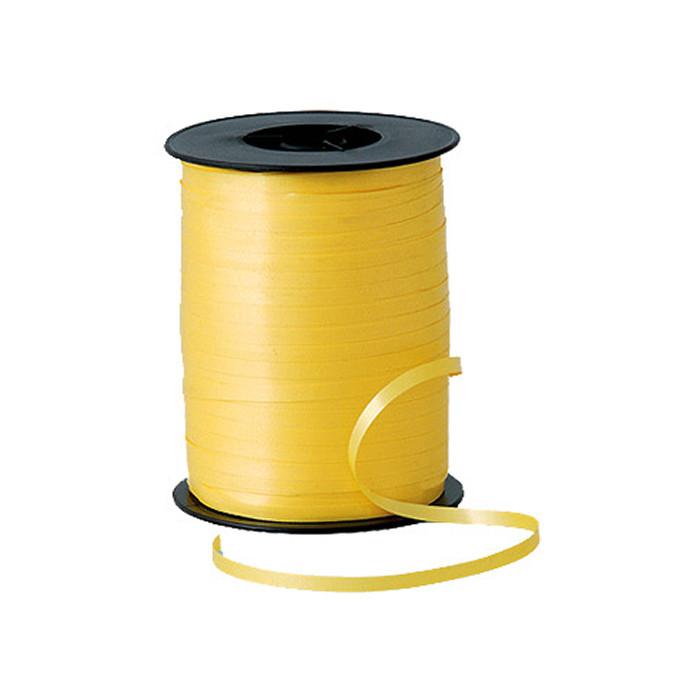 Лента (тесьма) желтая для гелиевых шаров