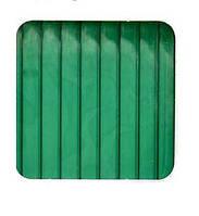 Сотовый поликарбонат Sotalux стандарт  4, Зеленый