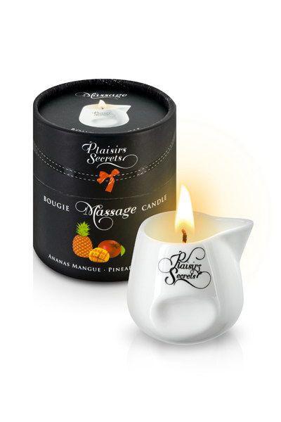 Массажная свеча Plaisirs Secrets Pineapple Mango (80 мл)