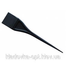 Кисть для окрашивания волос узкая черная