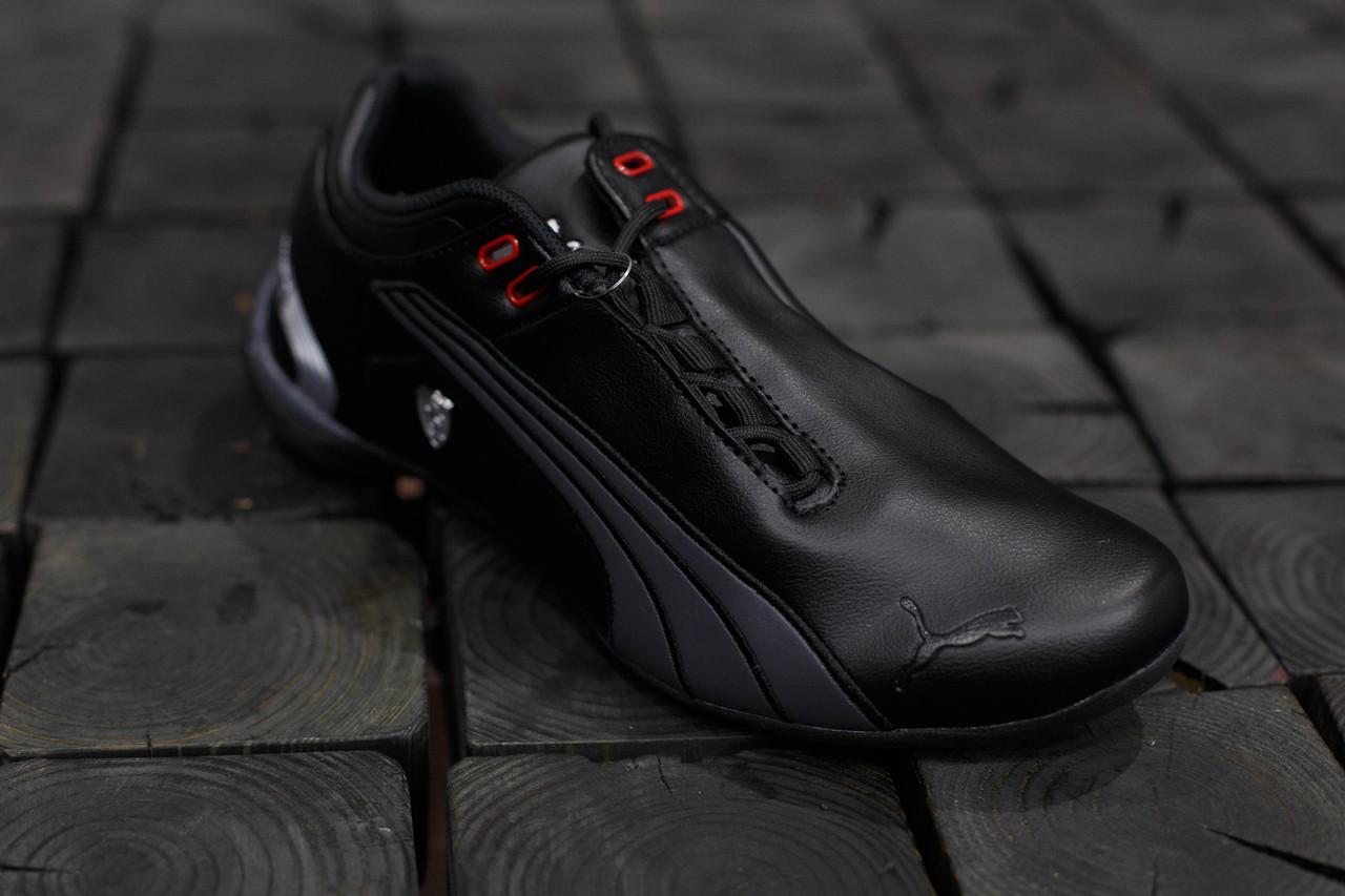 13593a049315 Мужские кроссовки Puma Ferrari.Черные,ЭКО кожа   продажа, цена в ...