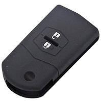 Силиконовый чехол для ключей MAZDA (2/ 3/ 6 /CX7 /CX9), фото 1