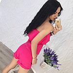 Женский костюм двойка (топ+шорты), фото 2