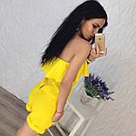 Женский костюм двойка (топ+шорты), фото 3