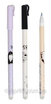 """Ручка гелевая """"пиши-стирай"""" синий """"Cats"""", 0.5 мм (GP-3252), фото 2"""