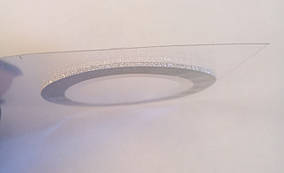 Скотч-лента сахарная для дизайна ногтей 1 мм(серебро)