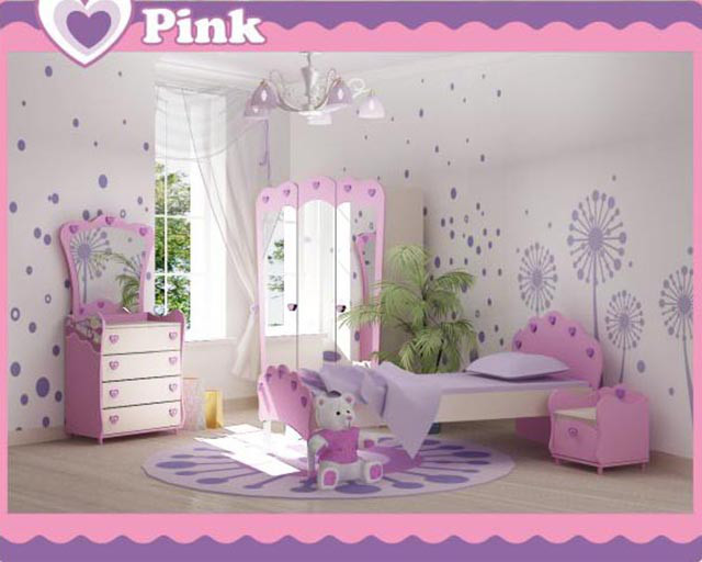 Детская комната Pink (интерьер 2)