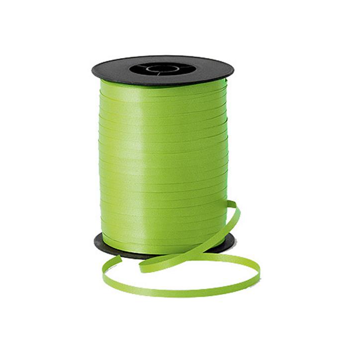 Лента (тесьма) светло-зеленая для гелиевых шаров