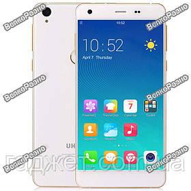 """Смартфон UHANS S1. Смартфон Uhans S1 белый  5"""" 3/32GB 5/13 МпСмартфон Uhans S1 3/32 GB"""