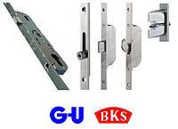 Замки рейкові GU BKS для дверей з алюмінію