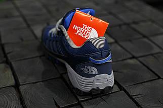 Кроссовки мужские The North Face.Синие,кожа-текстиль , фото 2