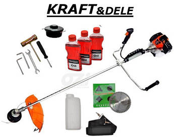 Бензиновая мотокоса KD10600 марки KRAFT&DELE