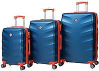 Набор чемоданов Bonro Next 3 штуки синий, фото 1