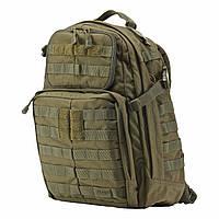 """Рюкзак тактический """"5.11 Tactical RUSH 24 Backpack"""",  Олива Тан, фото 1"""