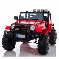 Детский электромобиль джип M 3470EBLR-3 цвет красный