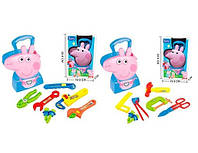 Игровой набор инструментов Свинка Пеппа (Peppa Pig) PP6040-F1/F2