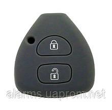 Силиконовый чехол для ключей Toyota (Camry/ Highlander/ Corolla/ Prado/ RAV4/Camry/ Land Cruiser)