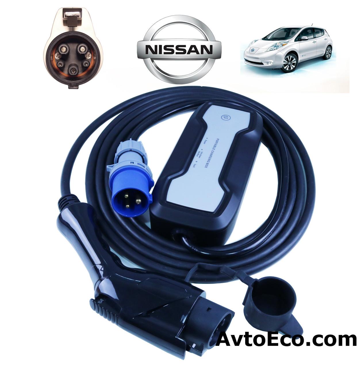 Зарядное устройство Besen для электромобиля Nissan Leaf J1772-16A