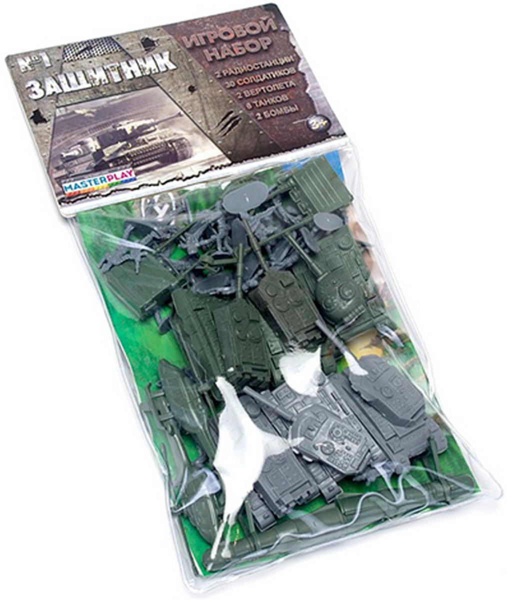 """Набір солдатиків в пакеті """"Захисник"""" 1-042"""