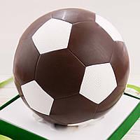 """Шоколадная фигура """"Футбольный мяч черный"""" классическое сырье. Размер: Ø225мм, вес 1800г , фото 1"""
