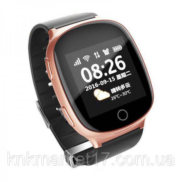 Smart baby watch S200 (D100) rose gold пульсометр