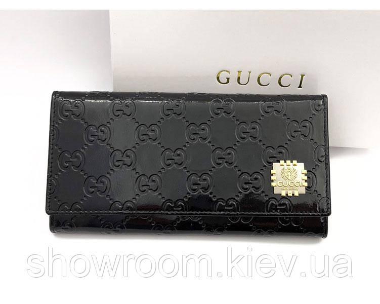 Женский кошелек в стиле Gucci (0101-3) black