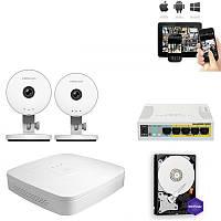 Комплект IP видео наблюдения 2HD Wi-Fi C1 Lite