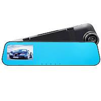 "✸Зеркало видеорегистратор Lesko Vehicle Blackbox DVR 3.9"" Car H39 с экраном запись 1080P FullHD G-сенсор"