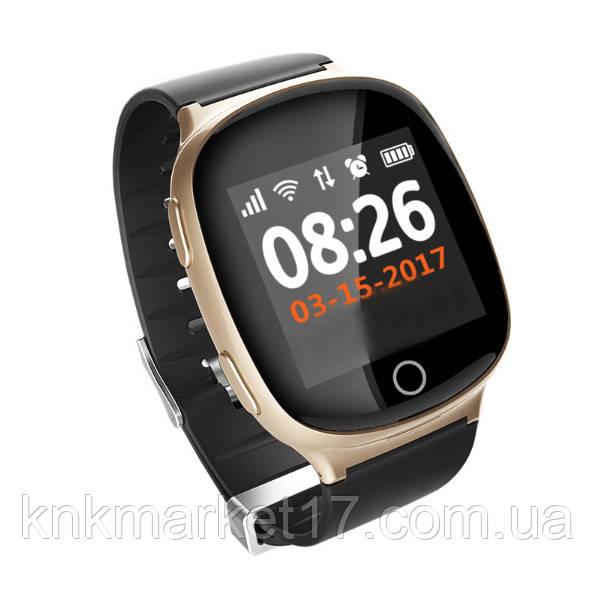 Smart baby watch  S200 (D100) gold  пульсометр