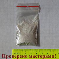 Металлик серебро. Металлический пигмент (порошок). Мика пудра, 3 г.