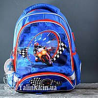 Рюкзак школьный K18-517S Motocross