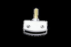 Держатель стеклянной полки, в душевую кабину, хромированный ( ЗС-6826 ) латунь, фото 2