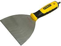 """Нержавеющий шпатель с битой PH2 в рукоятке Stanley """"JOINT KNIFE""""; 101 мм"""