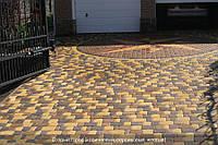 ТМ Brukland Старый город 45 мм желтый, терракот