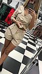 Модный женский костюм креп-костюмка , фото 3