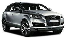 Дефлектор капота (мухобойка, отбойник капота) Audi Q7 2006-2014