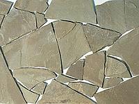 Камень песчаник 15мм Зеленый