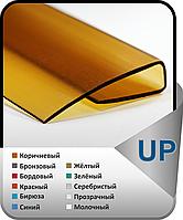 Торцевой профиль для поликарбоната UP-4, Прозрачный