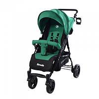 *Коляска детская прогулочная BabyCare Strada Forest Green колеса полиуретан CRL-7305